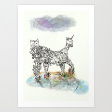 Catacorn Art Print