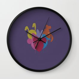 Disney Ballons Parade Wall Clock