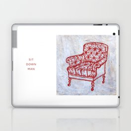 Red Chair Laptop & iPad Skin