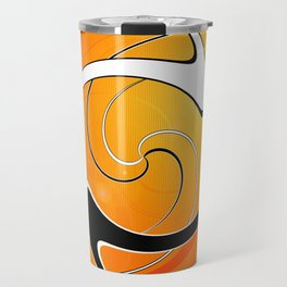 Ghosted Abstract Collection Travel Mug