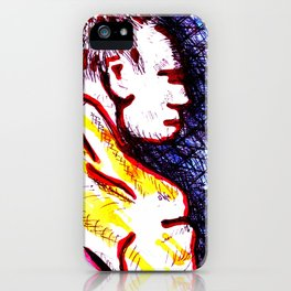 Mike cold water down iPhone Case