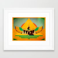 equality Framed Art Prints featuring Equality by Bastodesign