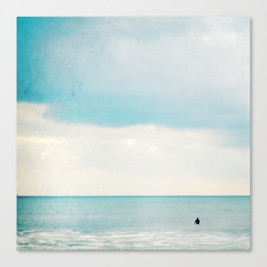 The surf, revisited Canvas Print