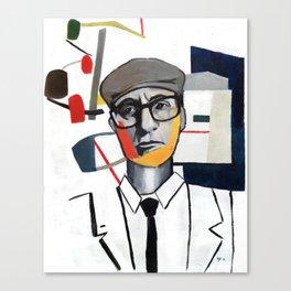 John Rawls (Rational Equilibrium) Canvas Print