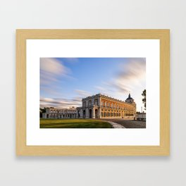 Royal Palace of Aranjuez in Madrid Framed Art Print