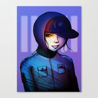 manga Canvas Prints featuring Manga by IOSQ