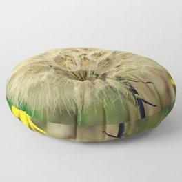 Dandelion | Make a wish Floor Pillow