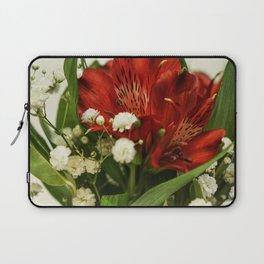 Still life with flowers Laptop Sleeve
