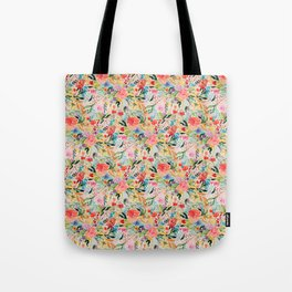 Flower Joy Tote Bag