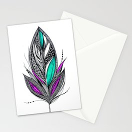 Harvest Feather 2 Stationery Cards