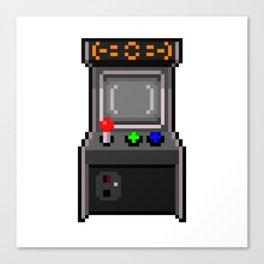 The arcade cabinet Canvas Print