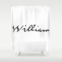 William Shower Curtain