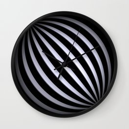 black-and-white -04- Wall Clock