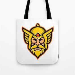 Thor Norse God mascot Tote Bag