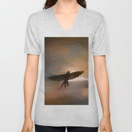 As The Crow Fly's Unisex V-Neck