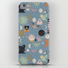 Lunar Pattern: Blue Moon Slim Case iPhone 6s Plus