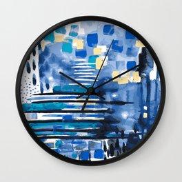 Sea Wall Wall Clock