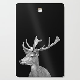 Deer Black Cutting Board