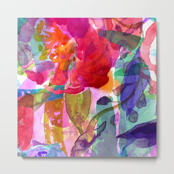 abstract bouquet Metal Print