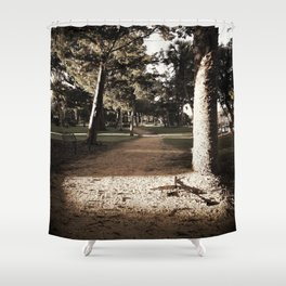 Hidden Path Shower Curtain