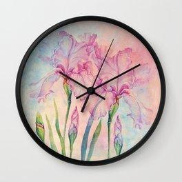 Angel Iris - Pure of Heart Wall Clock