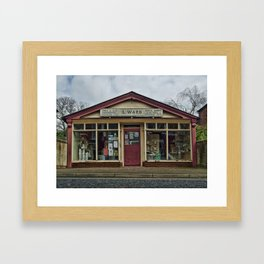 Mr Ward's shop Framed Art Print