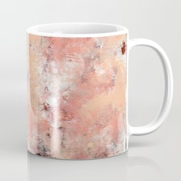 011.2: a bright contemporary abstract design in pinks black and white by Alyssa Hamilton Art Coffee Mug