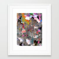 blues Framed Art Prints featuring Blues by Tyler Spangler