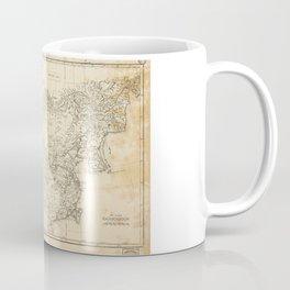 Map of China Chinese-Tartary & Tibet (1834) Coffee Mug