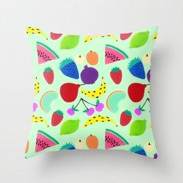 Fruit pattern Throw Pillow