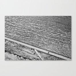 Lines of Quebec Canvas Print