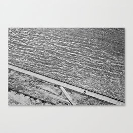 Lines of Quebec Canvas Print