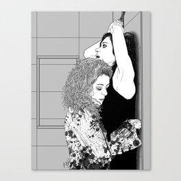 Orphan Black - Sarah/Helena S2 Shower Scene (Original Artwork Print) Canvas Print