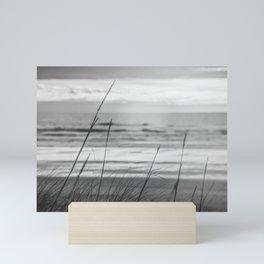 Black and White Ocean Dream Mini Art Print