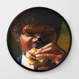 Tasty Burger Wall Clock