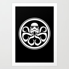 Hydra Trooper Art Print