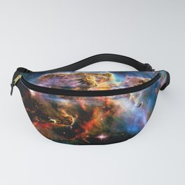 GAlAxY : Mystic Mountain Nebula Fanny Pack