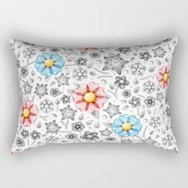 Millefiori Monotone Rectangular Pillow