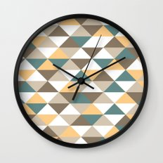 Triangle Pattern #2 Wall Clock
