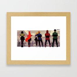 Townsville view Framed Art Print