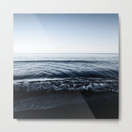 Landscape Photography   Water   Nature   Classic Blue Metal Print