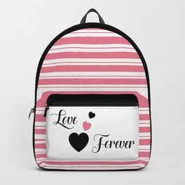 Love Forever Hearts Backpack