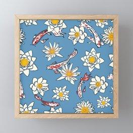 Floral Aquarium Framed Mini Art Print