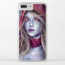 Sylvanas Clear iPhone Case