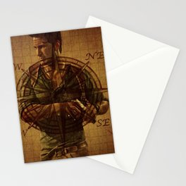 Compass of Uncharted Lands Stationery Cards