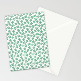 Pattern Project #53 / Four Leaf Clovers Stationery Cards