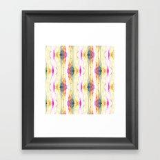 Melt Colors Series: Eye Framed Art Print
