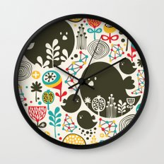 Big bird. Wall Clock