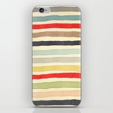 Stripes Watercolor Paint Robayre iPhone & iPod Skin