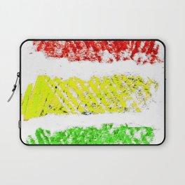 flag of bolivia 5 – Chalk version bolivian,boliviano,bolivian,Sucre, La Paz. Laptop Sleeve